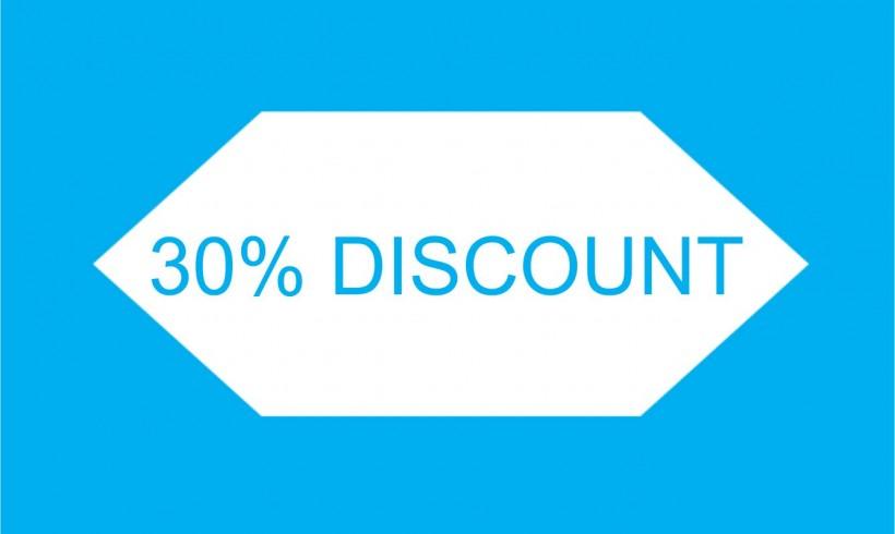 30% discount – Ofertă limitată!