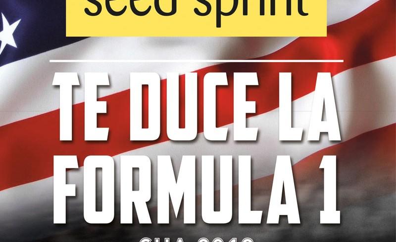 Seed Sprint te duce la Formula 1 SUA 2018
