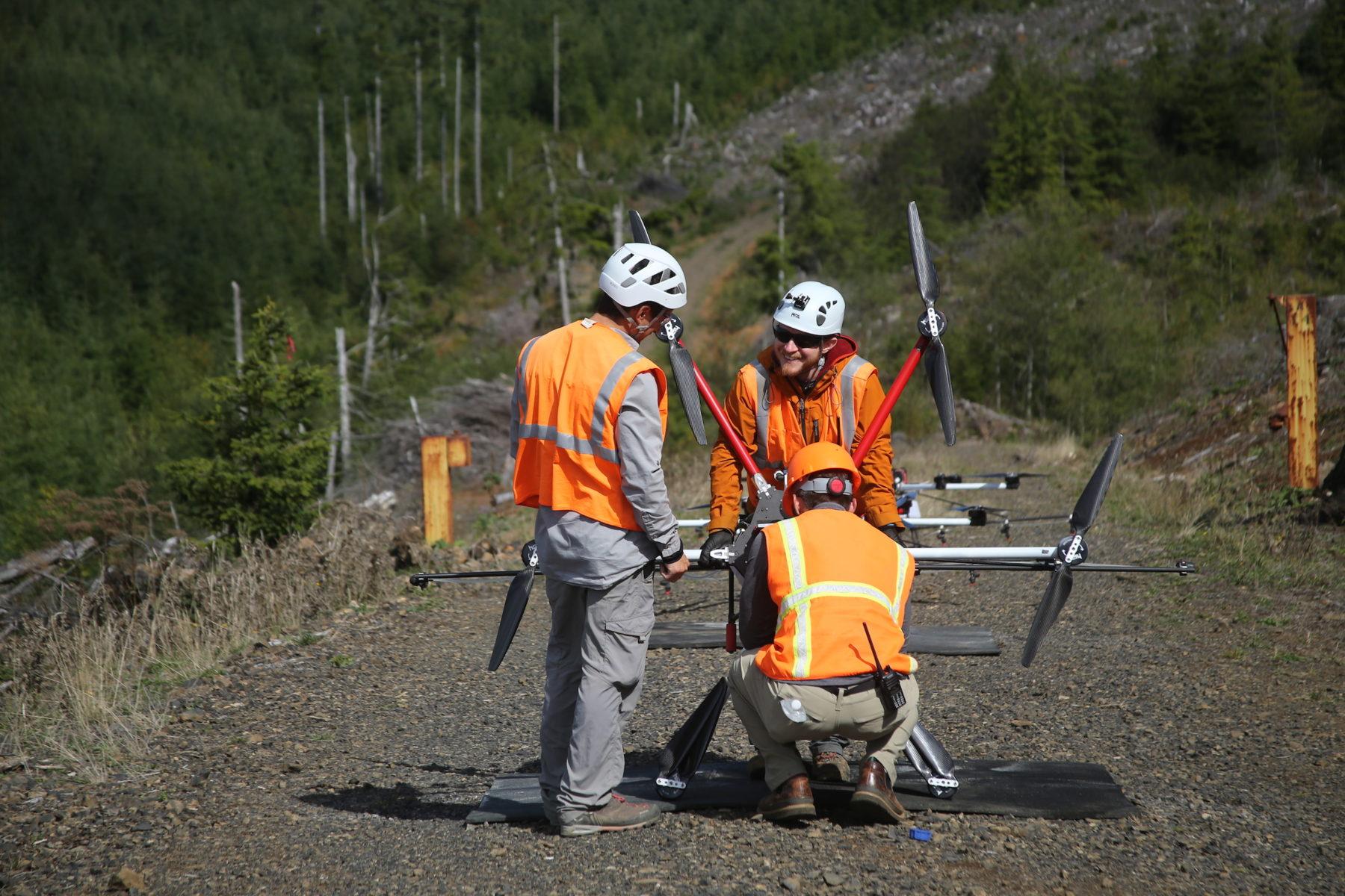 dronele pot rezolva problema defirserilor